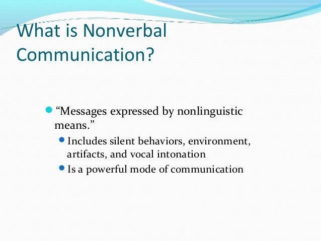 Cs non verbal communication Slide 2