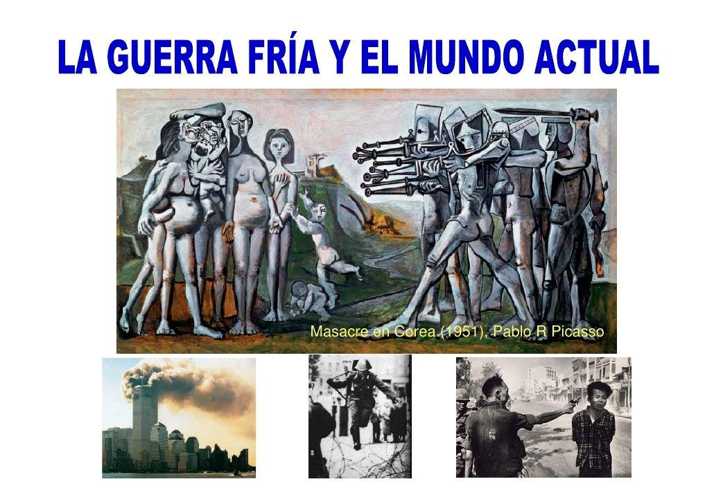 Masacre en Corea (1951), Pablo R Picasso