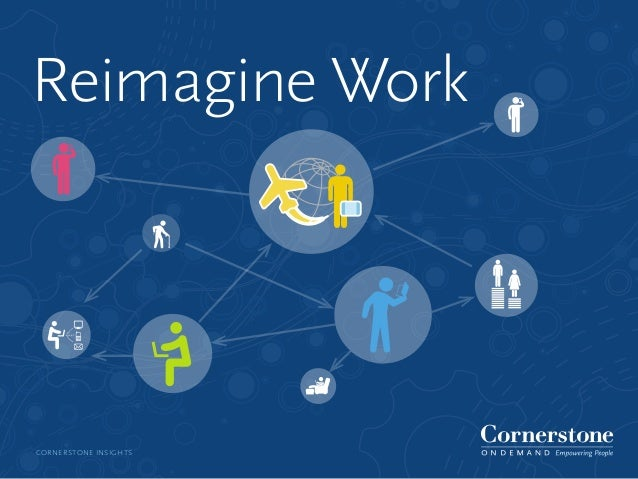 CORNERSTONE INSIGHTSReimagine Work