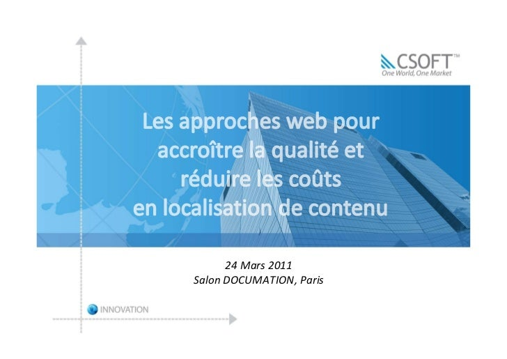 24 Mars 2011Salon DOCUMATION, Paris