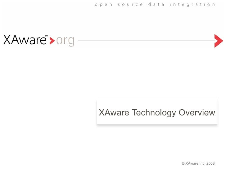 XAware Technology Overview