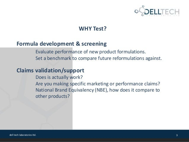 Test Methods for Cleaning Product Validation and Certification with CSPA Slide 3