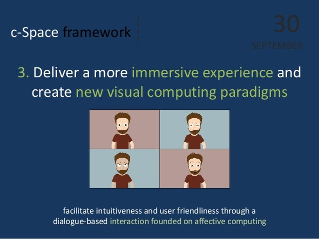 c-Space framework  facilitate intuitiveness and user friendliness through a dialogue-based interaction founded on affectiv...