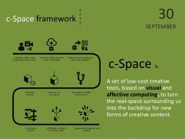 c-Space framework  A set of low-cost creative tools, based on visual and affective computing, to turn the real-space surro...