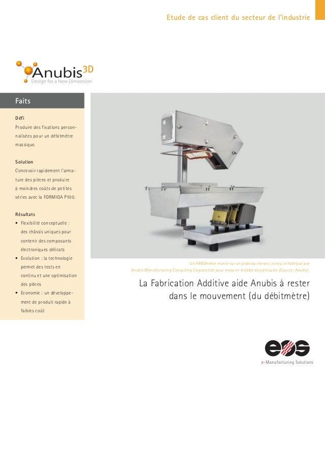 Etude de cas client du secteur de l'industrie Faits Un ARBOmètre monté sur un plateau vibrant, conçu et fabriqué par Anubi...