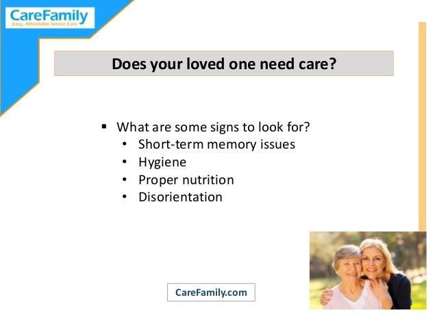 Planning Ahead for Elder Care Slide 2