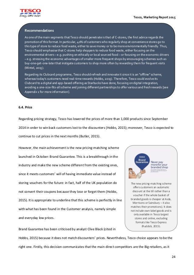 marketing communications strategy tesco Free essay: marketing communications plan – tesco planning for integrated marketing communications the overall marketing communications campaign is analogous.