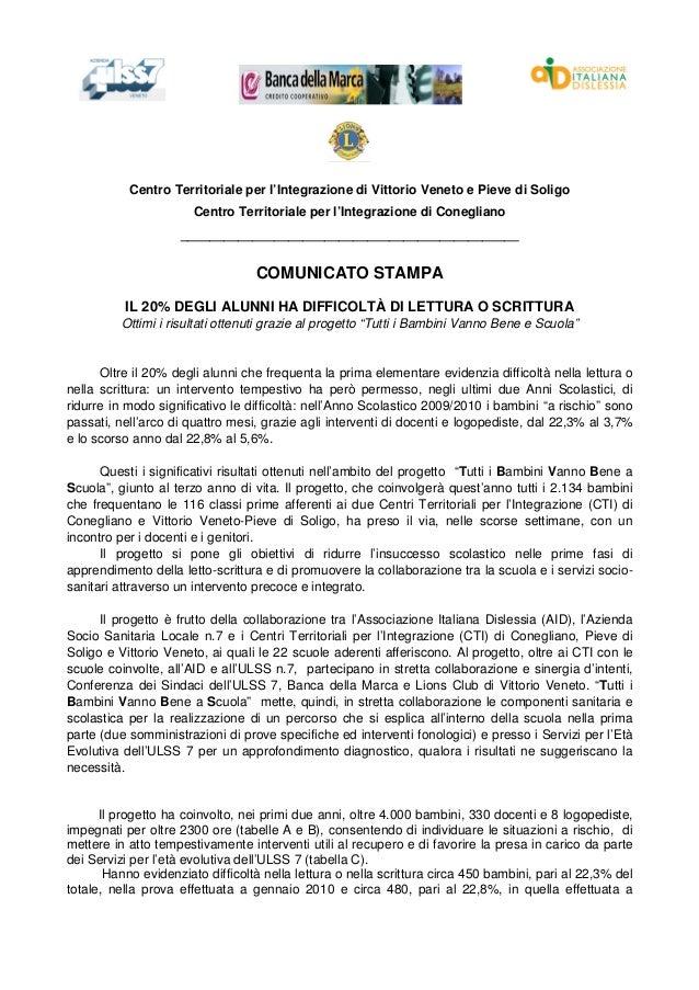 Centro Territoriale per l'Integrazione di Vittorio Veneto e Pieve di Soligo                       Centro Territoriale per ...