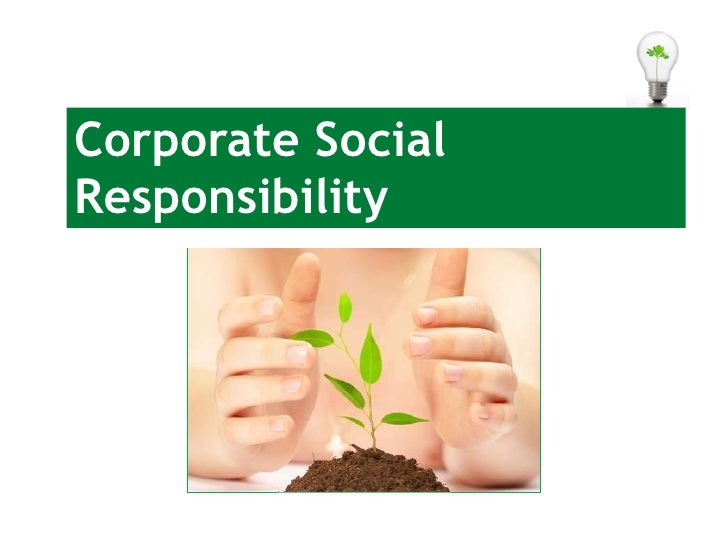 corporate social responsipility In the last decade, in particular, empirical research has brought evidence of the measurable payoff of corporate social responsibility (csr) initiatives to companies.