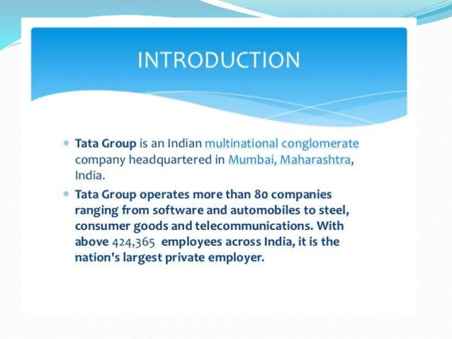 tata group csr Corporate social responsibility policy • the company endorses the tata group  purpose of improving the quality of life of the communities it serves through.