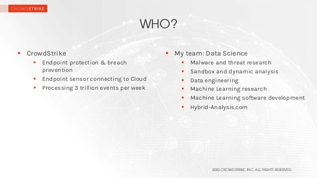 Of Search Lights and Blind Spots: Machine Learning in Cybersecurity Slide 2
