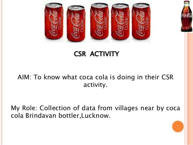 coca cola and csr