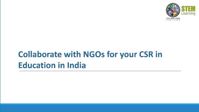 Introduction •Corporate social responsibility (CSR) activities bring positive reforms in the society and create goodwill a...