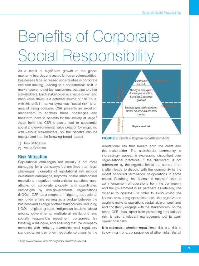 essay corporate social responsibility csr The role of corporate social responsibility in cross border regulation this is not an example of the work written by our professional essay writers although the neo-liberal discussions of the '80s gave priority to corporate rights and deregulation, the corporate social responsibility (csr) movement in the '90s.