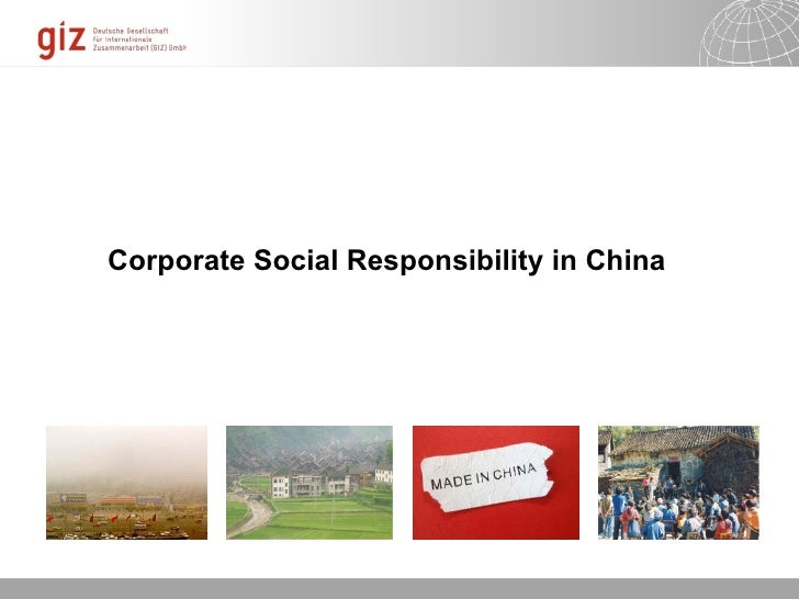 csr and social harmony in prc Ers in china perceive csr, and whether the perception is differ- ent from the  western  corporate social responsibility: the harmony approach journal of.
