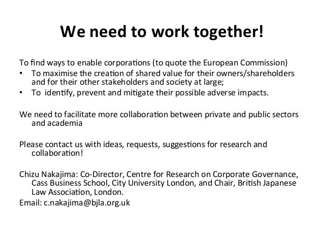 We  need  to  work  together!   To  find  ways  to  enable  corpora4ons  (to  quote  the  Europ...