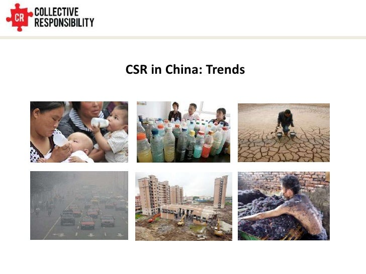 CSR in China: Trends<br />