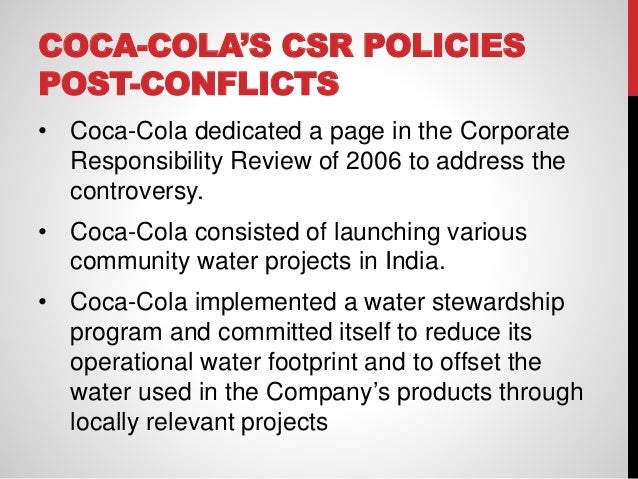 coca cola philippines corporate social responsibility