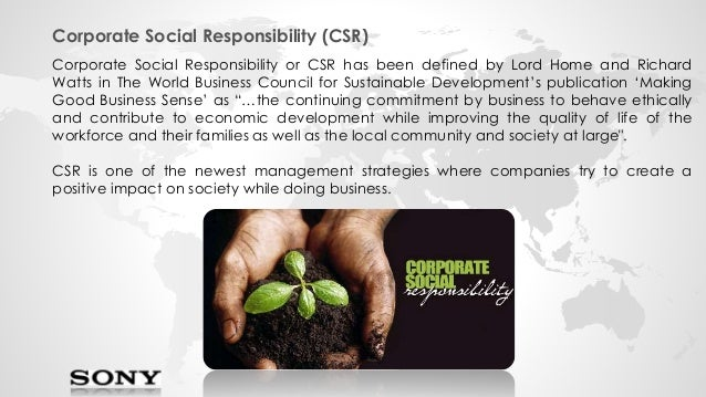 corporate social responsibility unit 4 Corporate social responsibility (csr, also called corporate conscience or may be a separate unit reporting to the ceo or the board of directors.