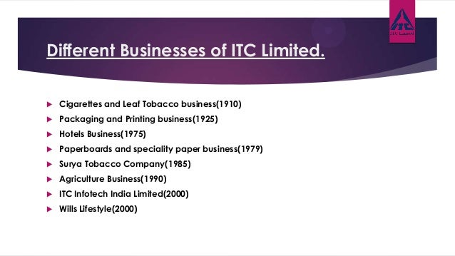csr of itc limited Itc -ltd itc limited (bse: 500875) public conglomerate company  headquartered in kolkata( ) years itc is presently in - fmcg, paper,  paperboards.