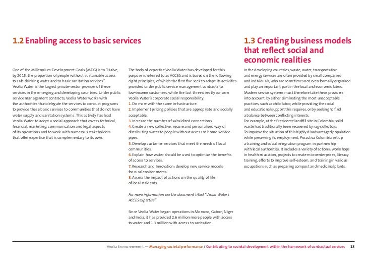 1.2 Enabling access to basic services                                                                                     ...