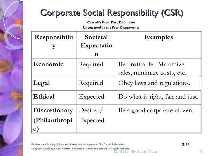 social responsibility definition essay