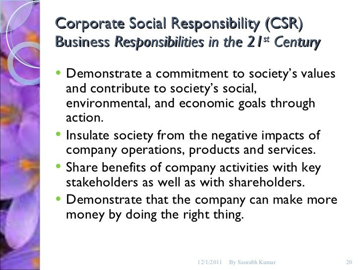 fallacies of corporate social responsibility essay Read this essay on csr of nike corporate social responsibility challenges that companies in the apparel industry face in its logical fallacies essay skill.