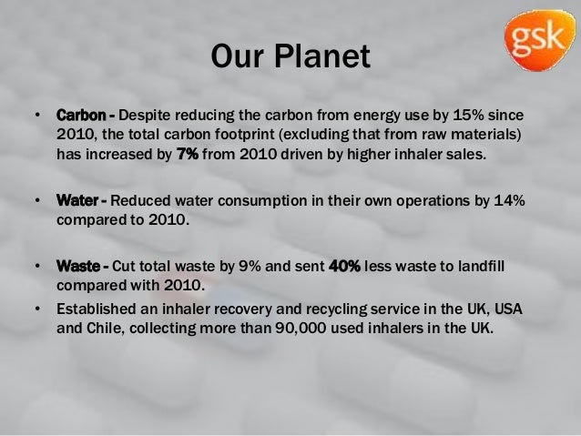 Our Planet • Carbon - Despite reducing the carbon from energy use by 15% since 2010, the total carbon footprint (excluding...