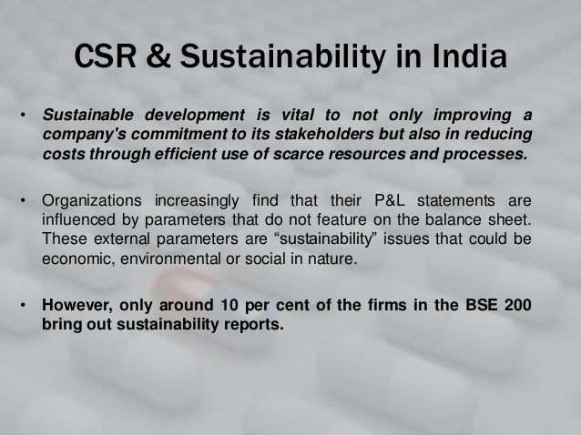 csr in of pharmaceutical sectors in Like other major business sectors, the pharmaceutical industry is under constant scrutiny regarding the way it operates in recent years, the concept of corporate social responsibility has grown in importance csr is often discussed at the highest levels of companies, but there are a variety of .
