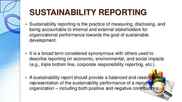 CSR Profile of Global Reporting Initiative (GRI)