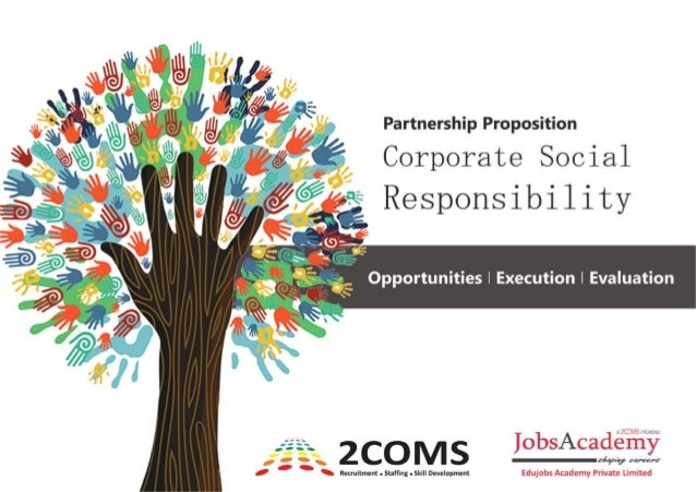 project on corporate social responsibility pdf