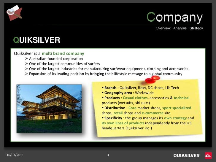 CSR Communication Plan - Quiksilver Slide 3
