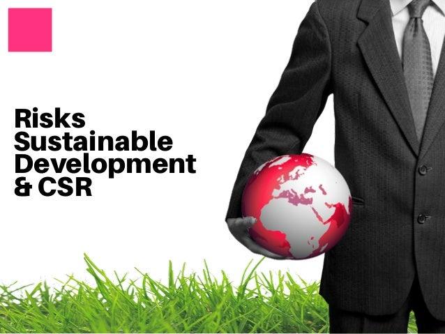 Risks Sustainable Development & CSR