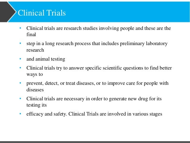 Clinical study report | definition of clinical study ...