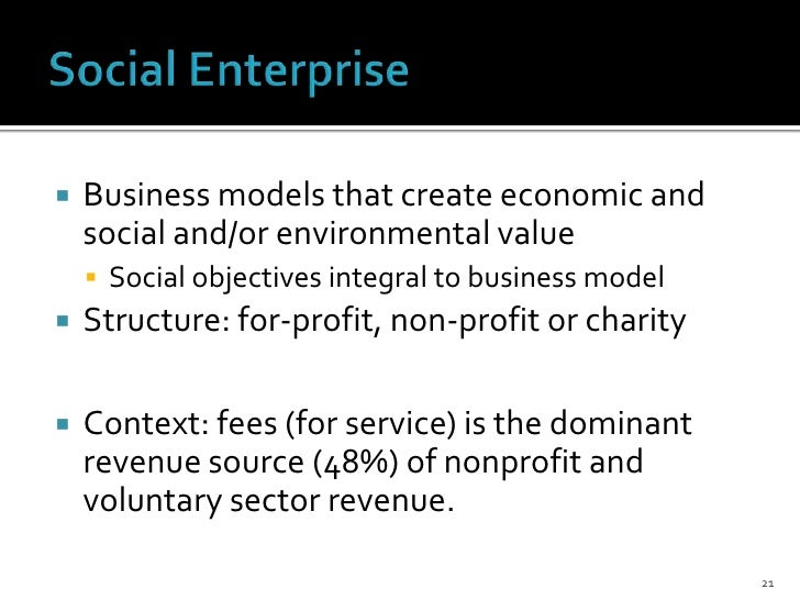 Nonprofit economic and voluntary spirit model