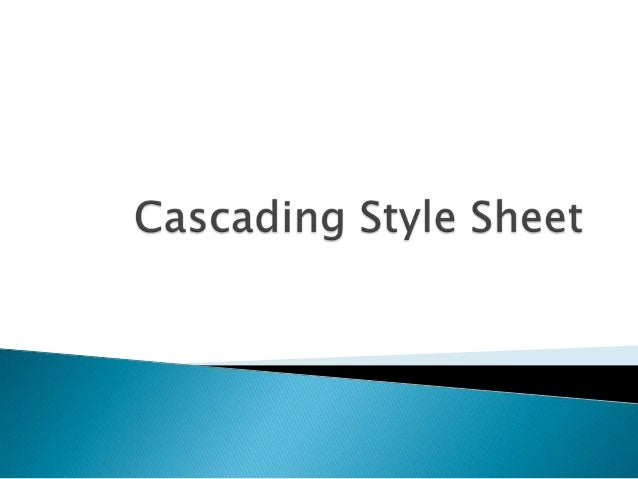  Styles define how to display HTML elements  Styles were added to HTML 4.0 to solve a problem  External Style Sheets ca...