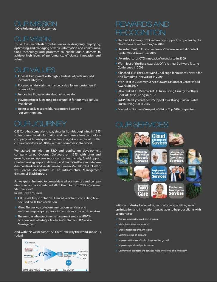 Css Corp Profile