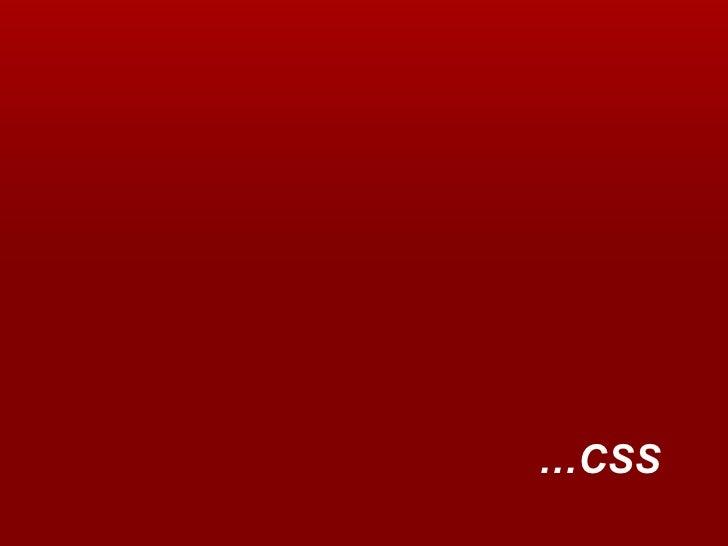 … CSS