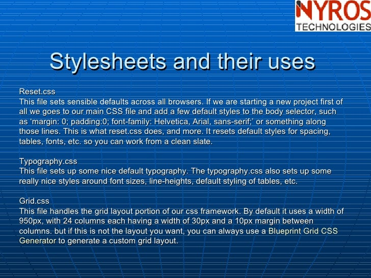 Css framework by nyros developer 10 malvernweather Choice Image
