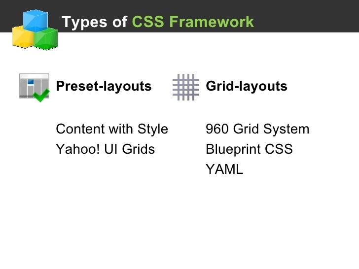 Using a css framework 28 types of css framework malvernweather Gallery