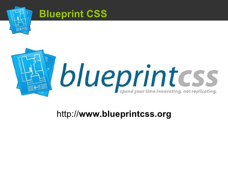 Using a css framework blueprint css http blueprintcss malvernweather