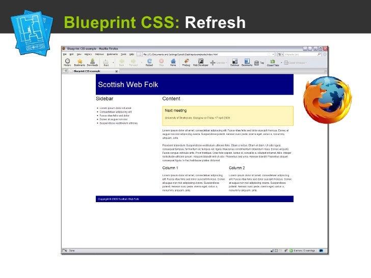 Using a css framework blueprint css refresh malvernweather Choice Image