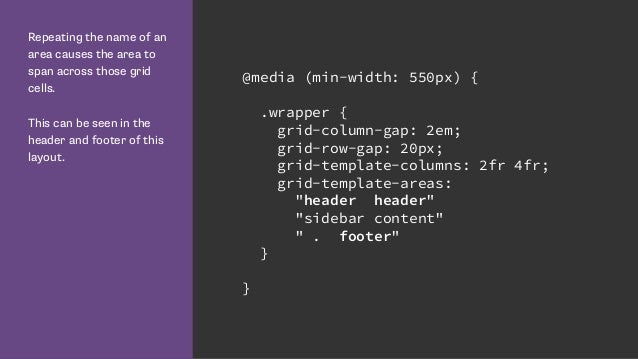 Talk Web Design Get Ready For Css Grid Layout