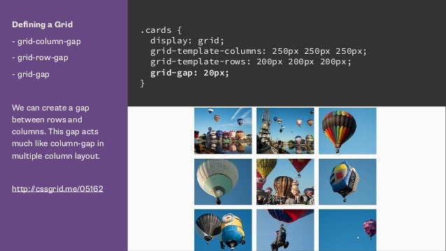 Talk web design get ready for css grid layout 9 defining a grid malvernweather Images