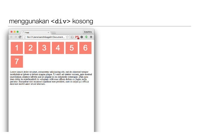 CSS Layouting #4 : Float