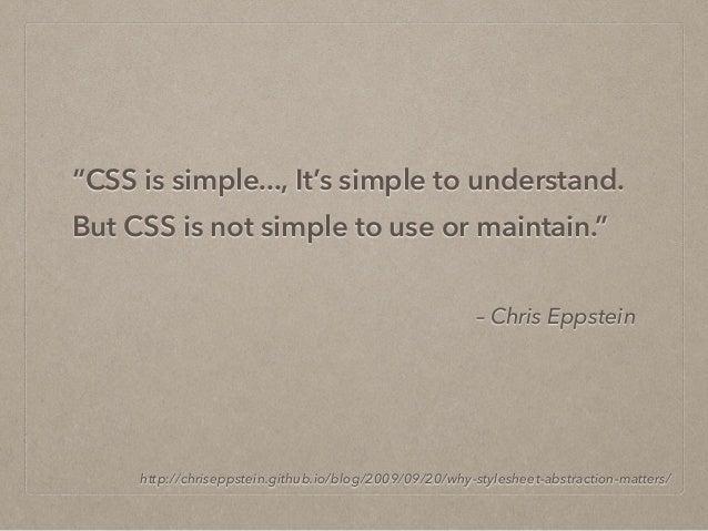 漫談 CSS 架構方法 - 以 OOCSS, SMACSS, BEM 為例 Slide 3
