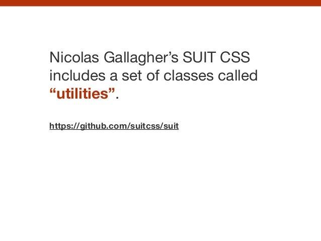 CSS pattern libraries Slide 104