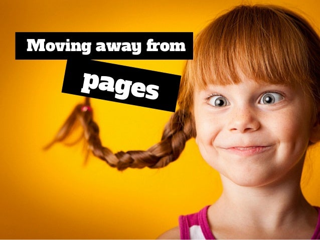 pages Moving away from