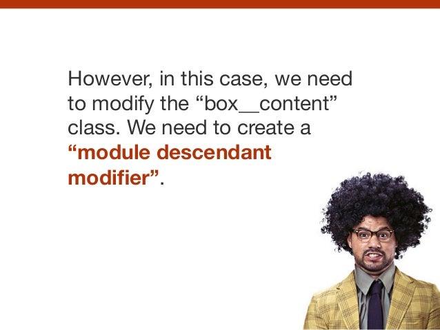 CSS pattern libraries Slide 95