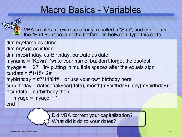 excel excellence microsoft excel training that sticks macros
